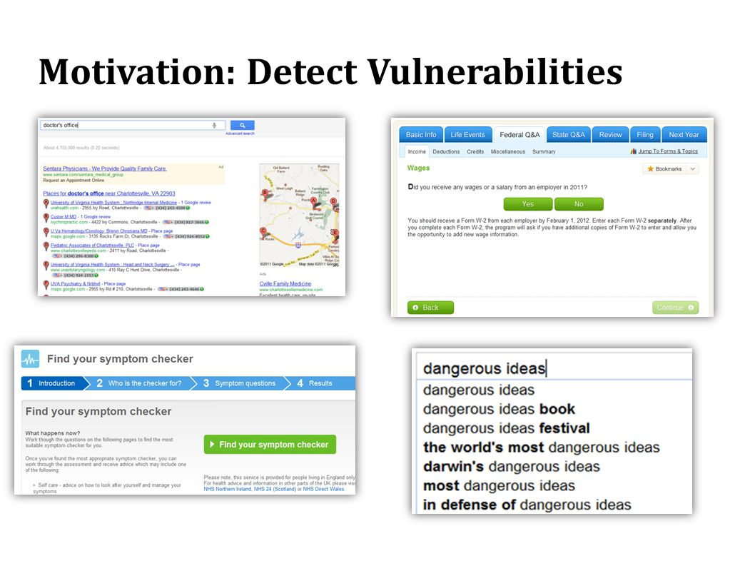 Motivation: Detect Vulnerabilities