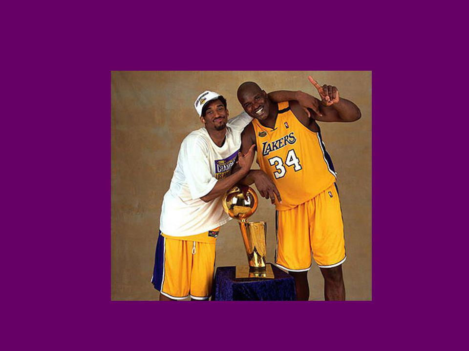 Relationship Deteriorates Kobe criticized Shaq for being out of shape at the start of the 2003 season Upset when Shaq didnt call to give support for Bryants upcoming sexual assault case Shaq thought he wasnt getting the ball enough This time, success could not mask problems as Lakers were upset by Detroit in the finals.