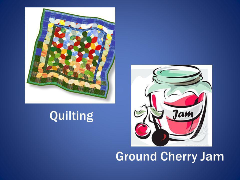 Ground Cherry Jam Quilting