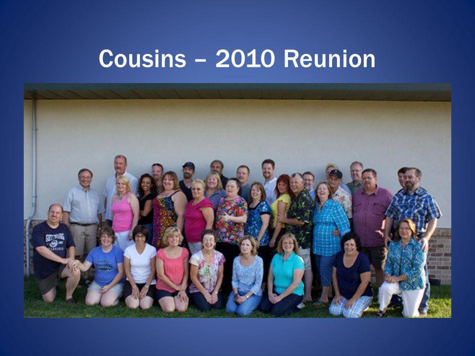 Cousins – 2010 Reunion