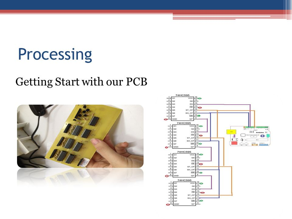 Processing Getting Start with our PCB
