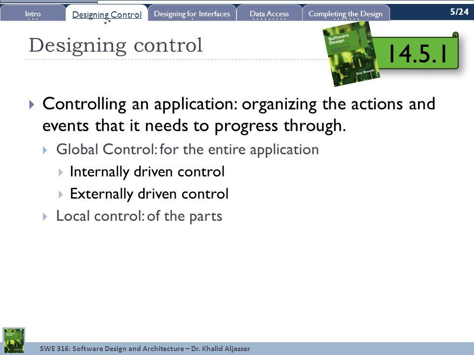 SWE 316: Software Design and Architecture – Dr.Khalid Aljasser Relational DBMS vs.