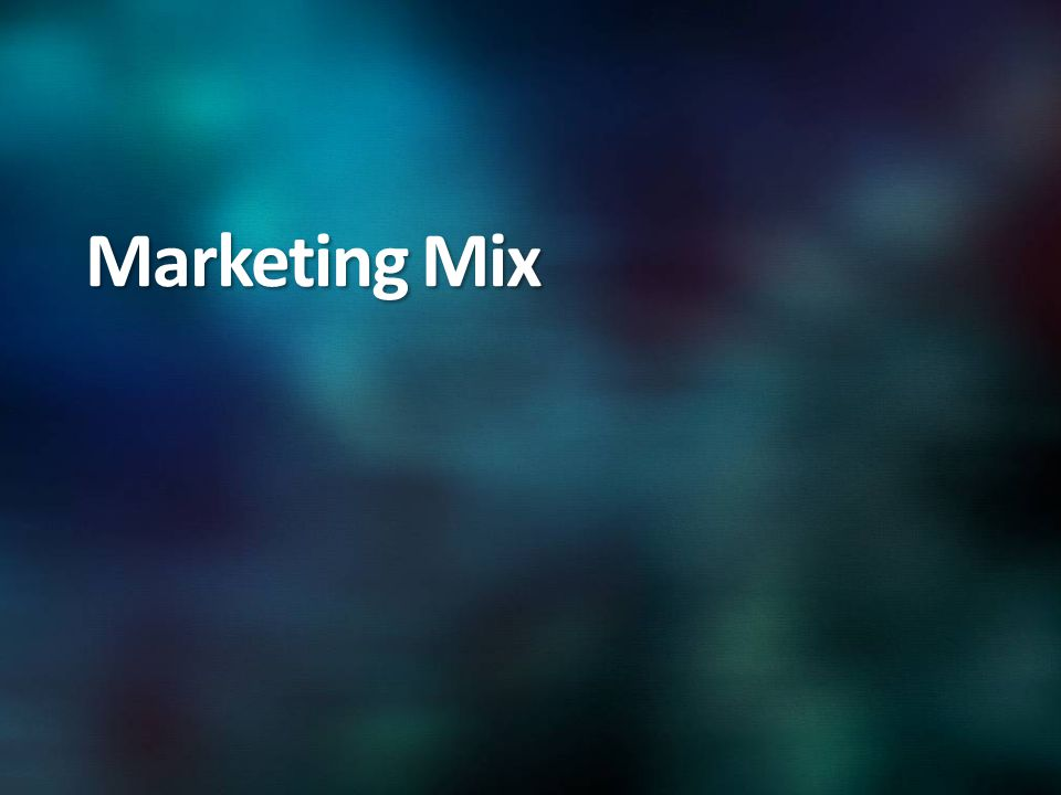 Marketing Mix
