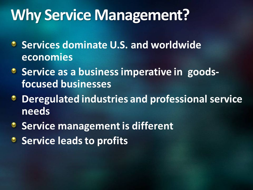 Services dominate U.S.