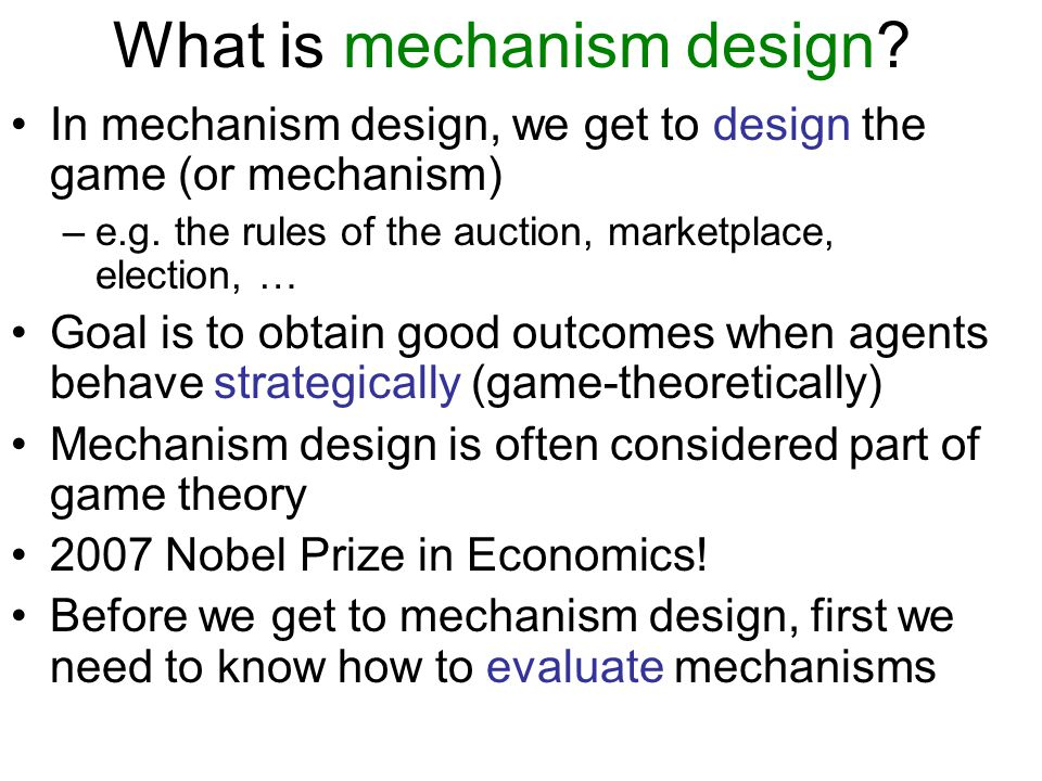 Bayesian games What if we didnt even know what game is being played.