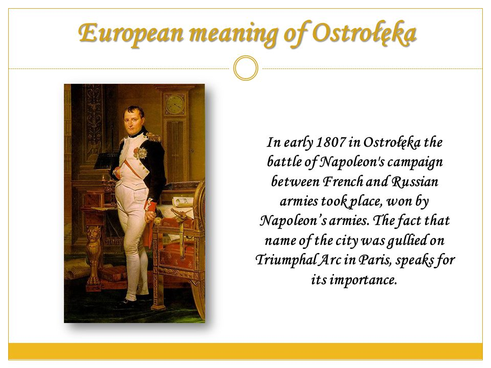 What we are proud of Every year in May (12 – 26 May) an event called Days of Ostrołęka takes place.