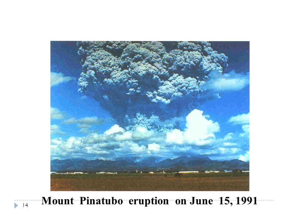 Mount Pinatubo eruption on June 15, 1991 14