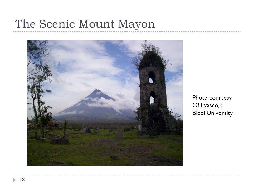The Scenic Mount Mayon Photp courtesy Of Evasco,K Bicol University 18