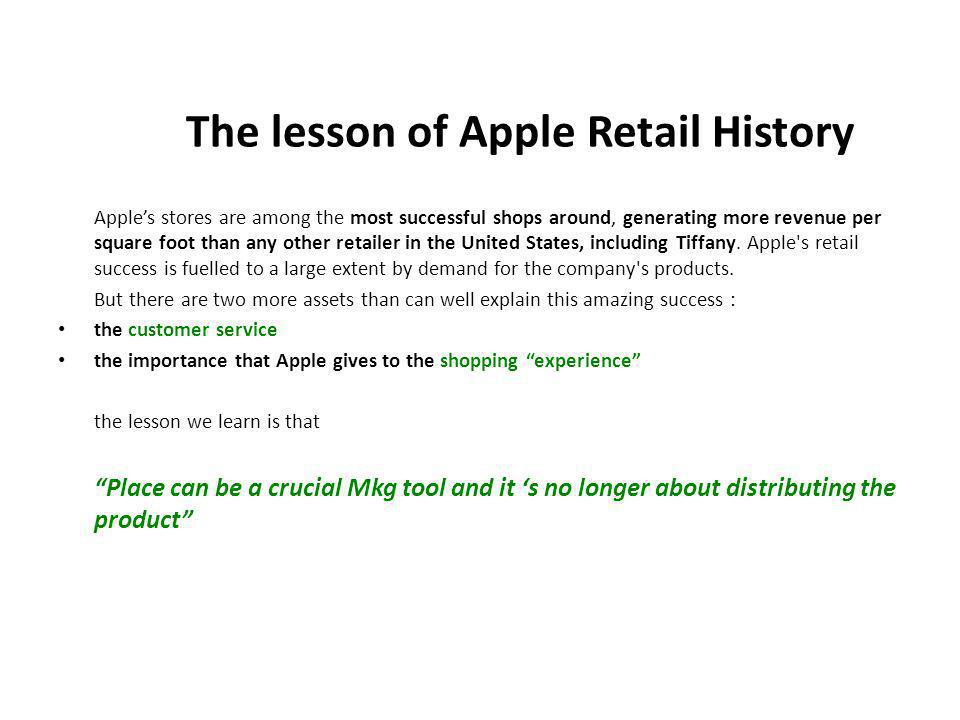 Apples stores are among the most successful shops around, generating more revenue per square foot than any other retailer in the United States, including Tiffany.