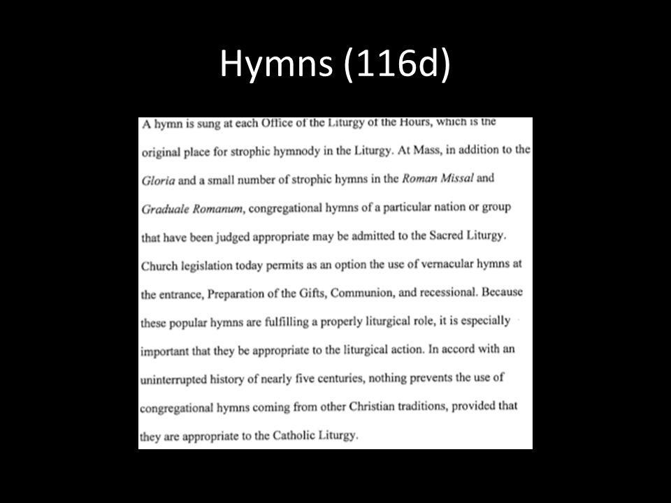 Hymns (116d)