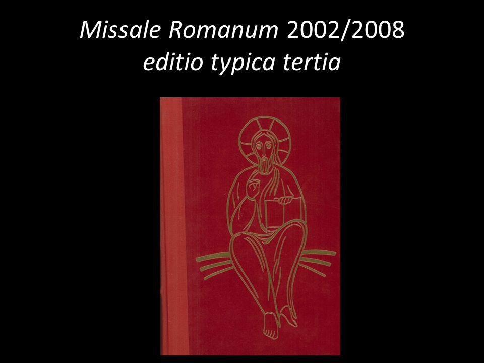 Missale Romanum 2002/2008 editio typica tertia