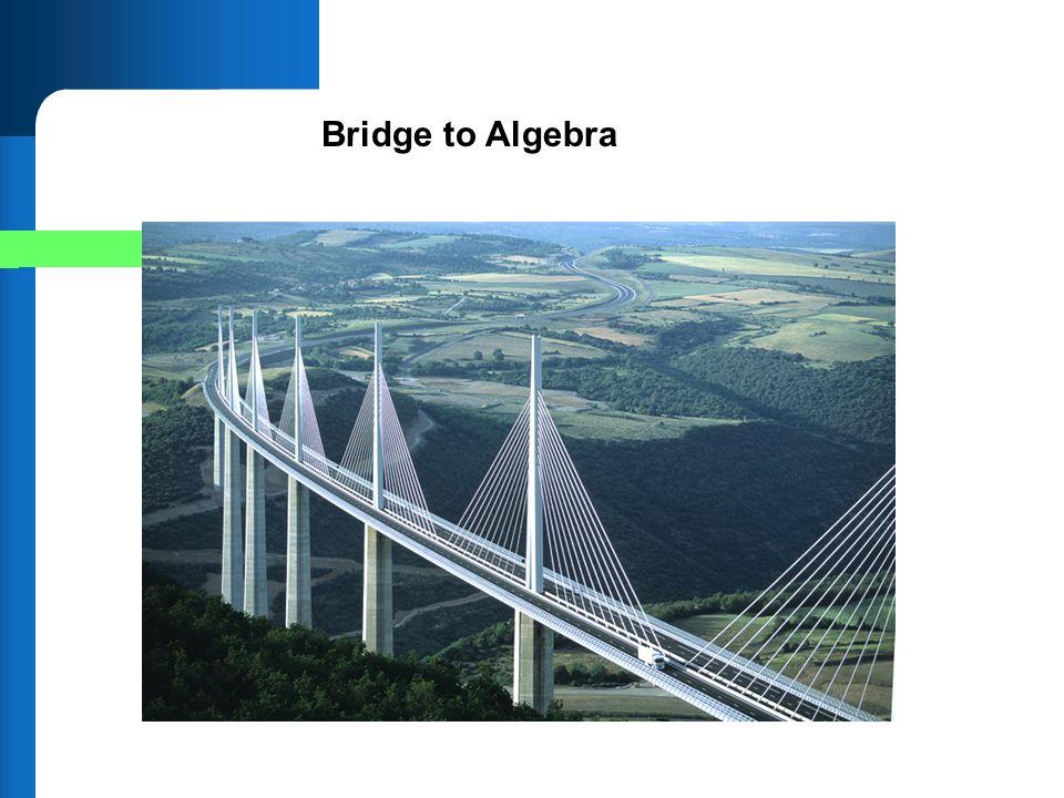 Bridge to Algebra
