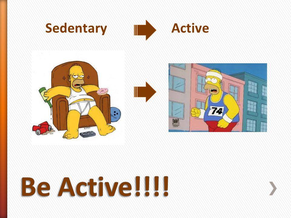 SedentaryActive