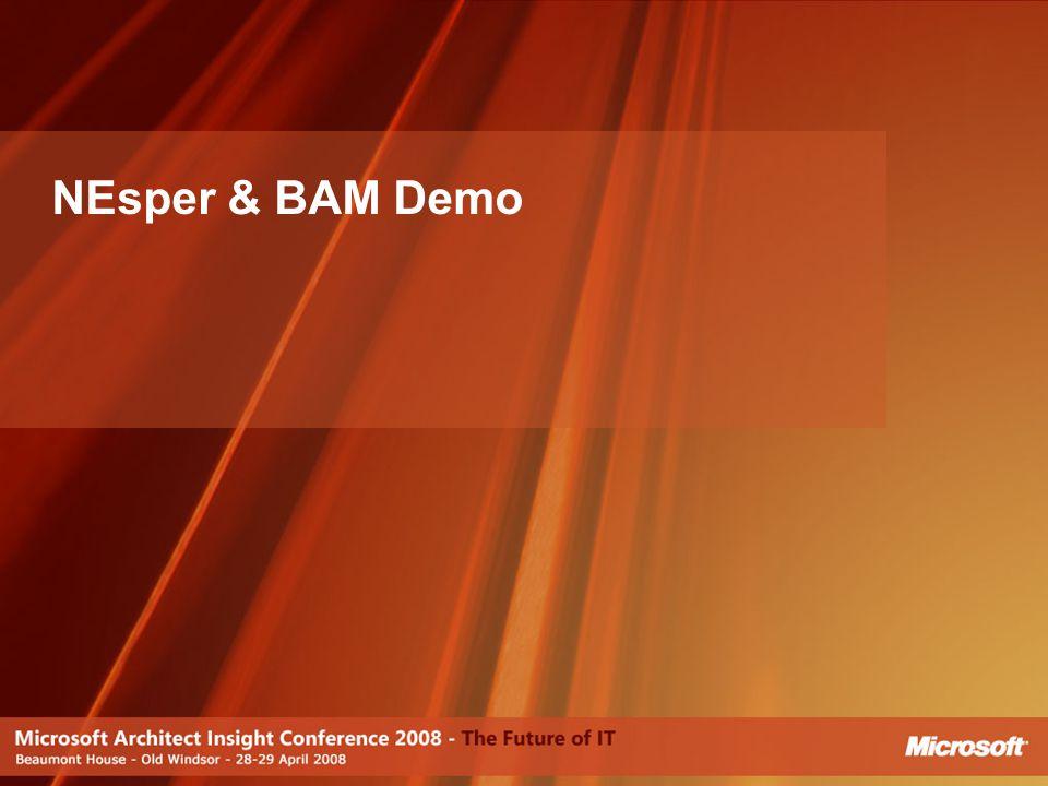 NEsper & BAM Demo