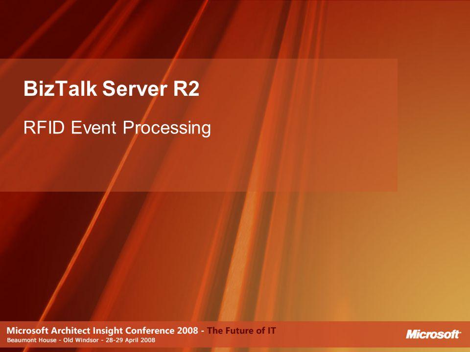 BizTalk Server R2 RFID Event Processing