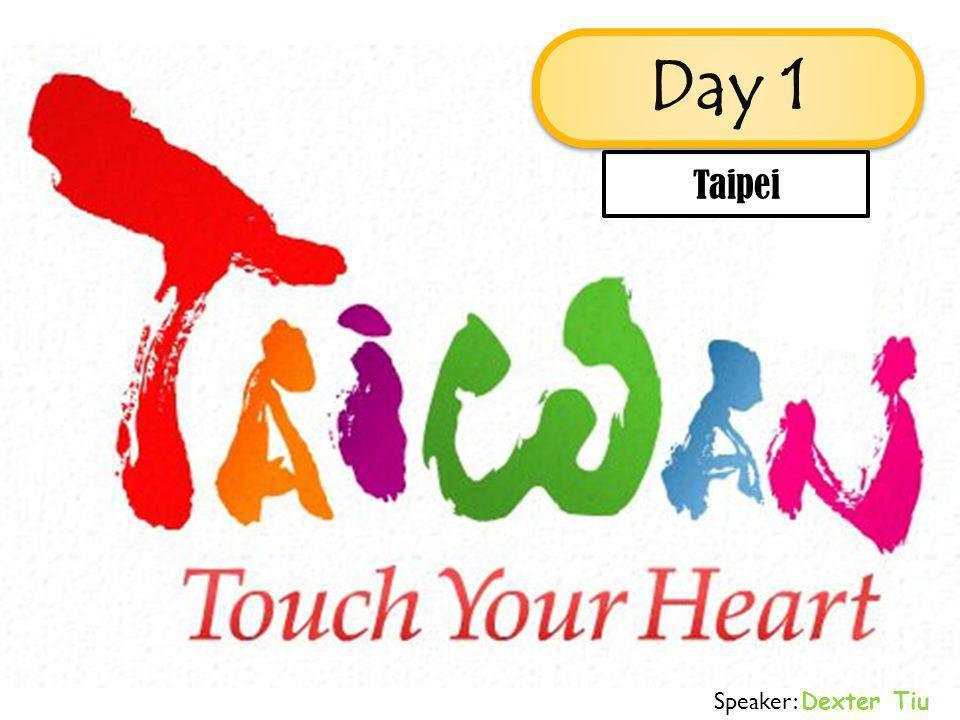 Speaker: Dexter Tiu Taipei Day 1