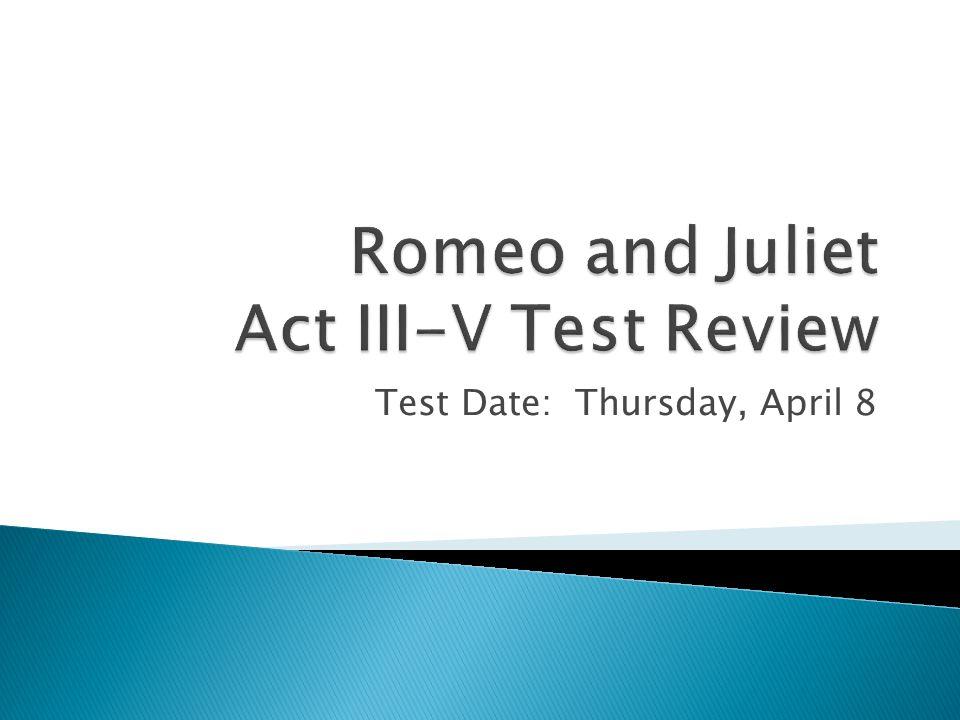 Test Date: Thursday, April 8