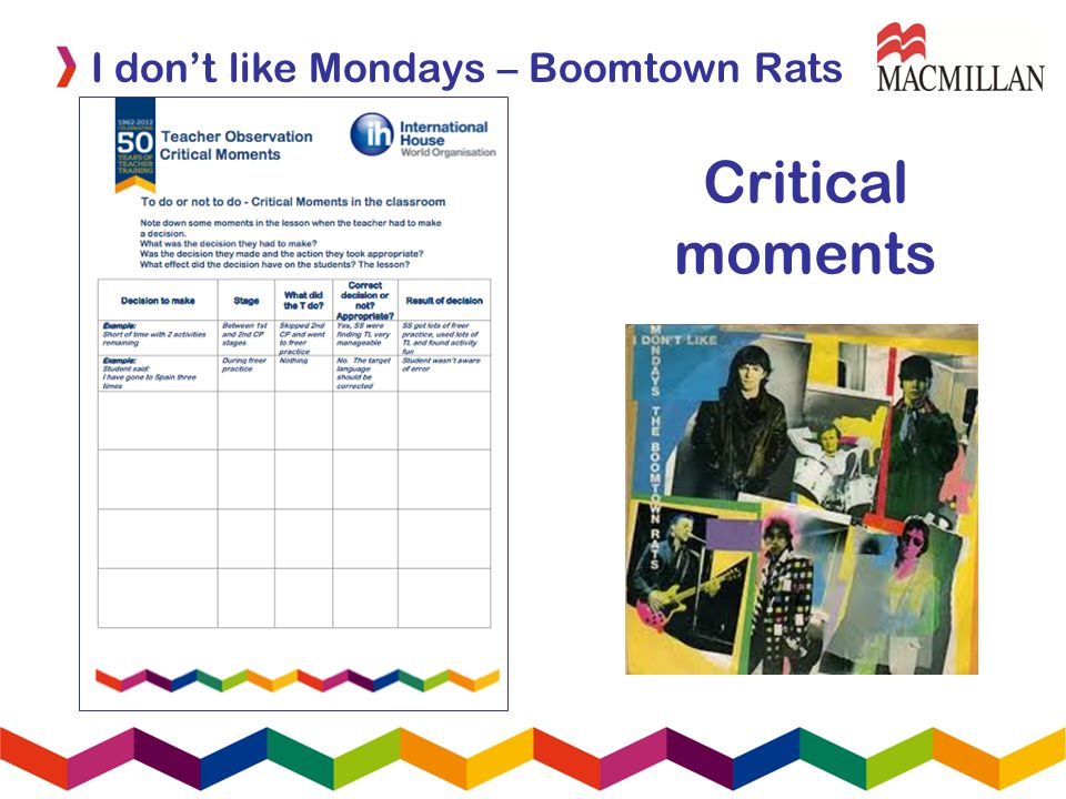 I dont like Mondays – Boomtown Rats Critical moments