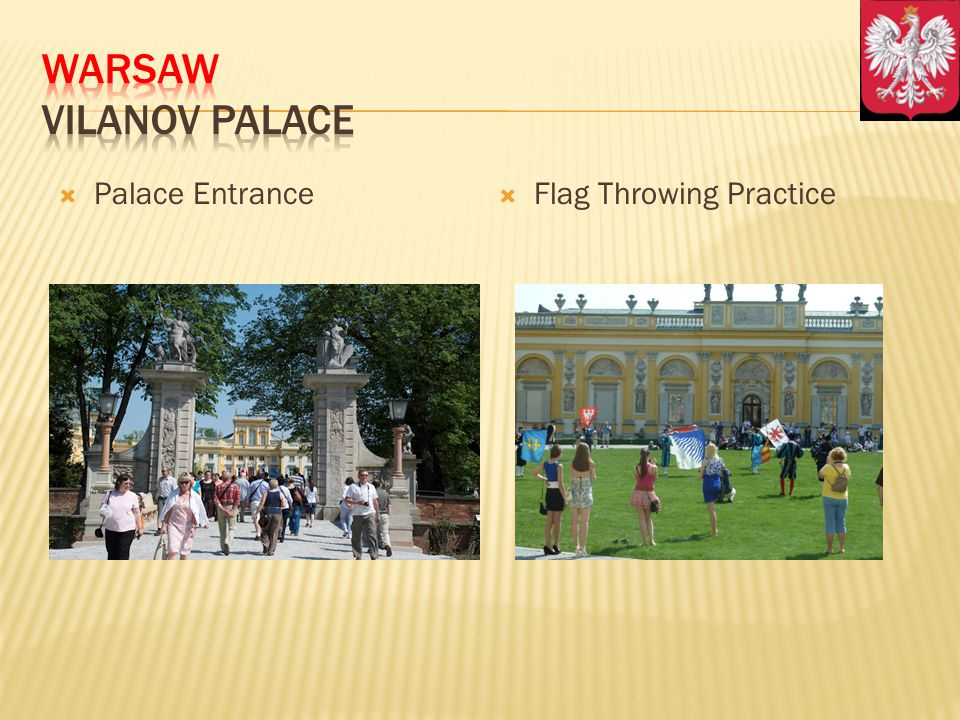 Palace Entrance Flag Throwing Practice