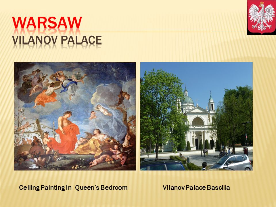 Ceiling Painting In Queens BedroomVilanov Palace Bascilia