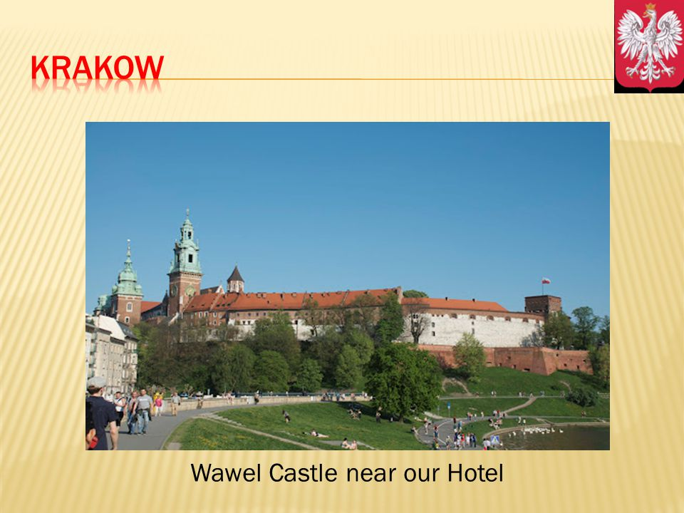 Wawel Castle near our Hotel