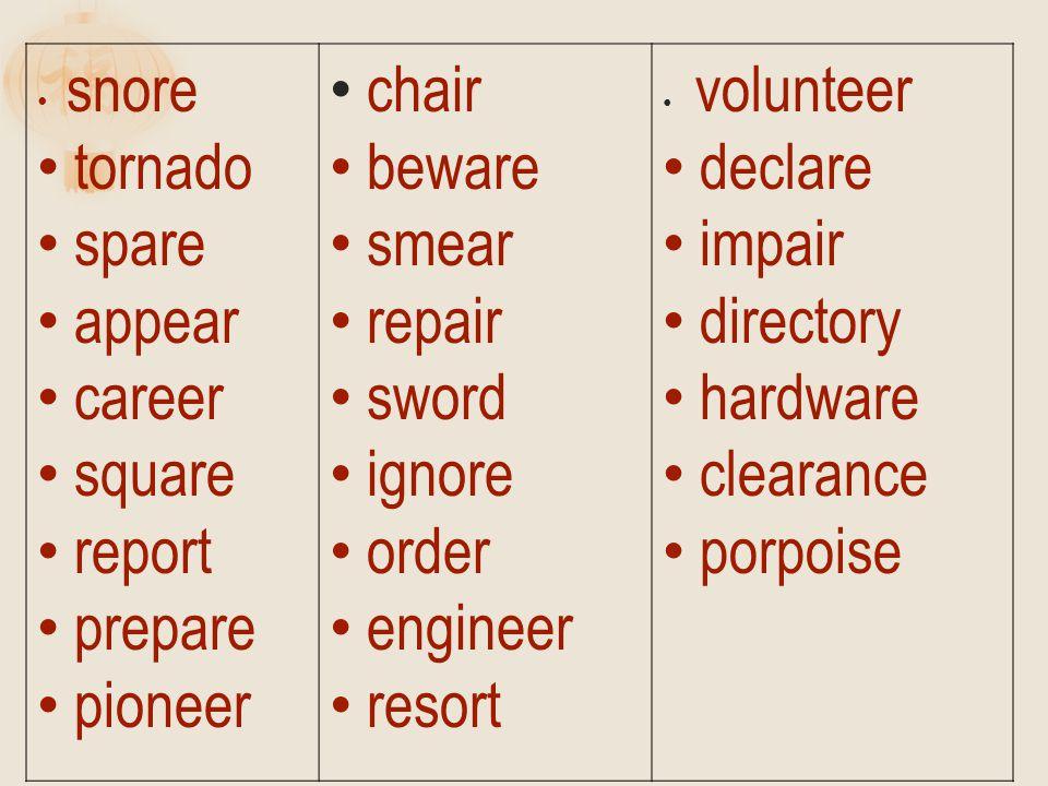 snore tornado spare appear career square report prepare pioneer chair beware smear repair sword ignore order engineer resort volunteer declare impair directory hardware clearance porpoise