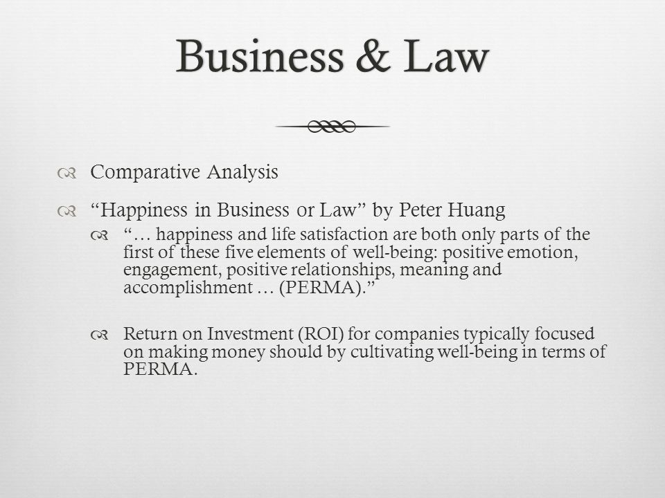 Attorney CompensationAttorney Compensation Deferred Compensation Most common practice among law firms 1/3 of associate revenue generated deemed to be profit Profit distributed to partners Incentivizes associates to work hard on one day make partner Can end up rewarding the most unproductive members of the firm Probably better than pure productivity or seniority Should try to integrate more performance-based incentives