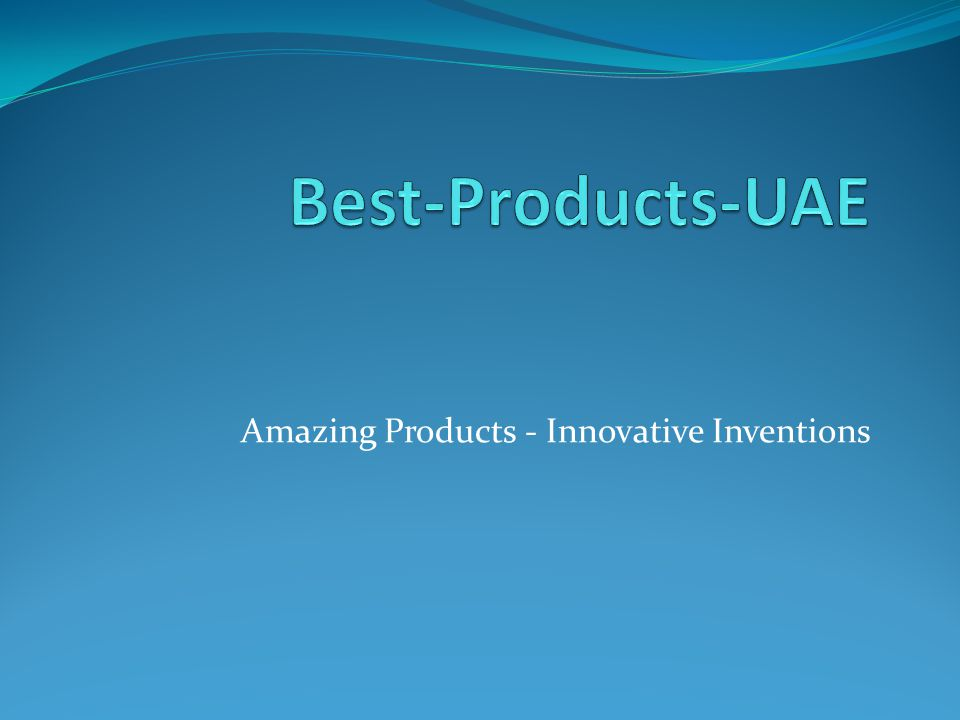 Amazing Products - Innovative Inventions