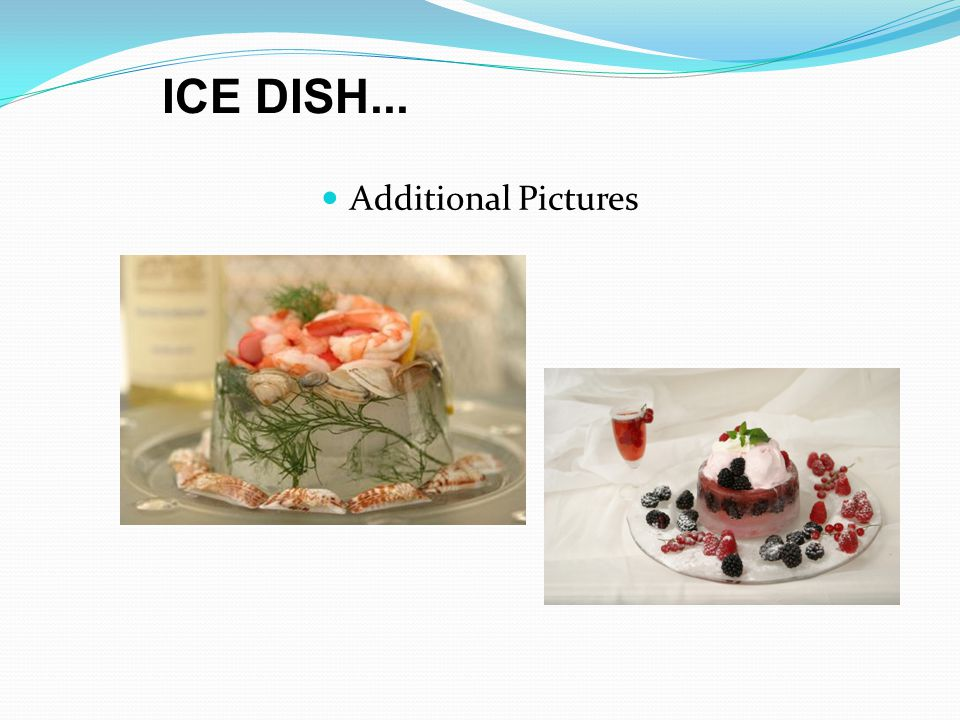 Additional Pictures ICE DISH...