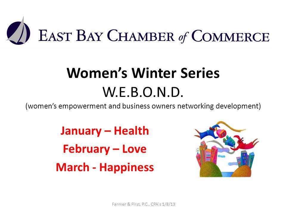 Womens Winter Series W.E.B.O.N.D.