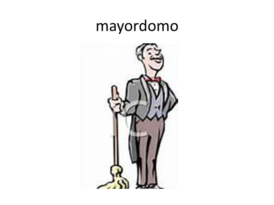 mayordomo