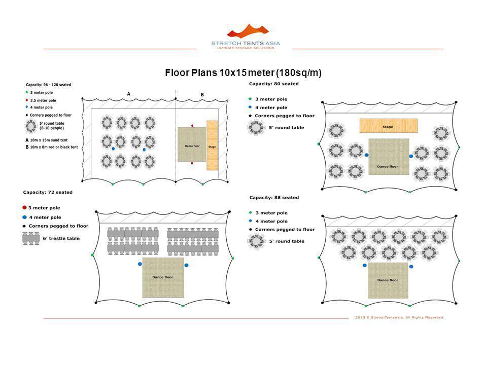 Floor Plans 10x15 meter (180sq/m)