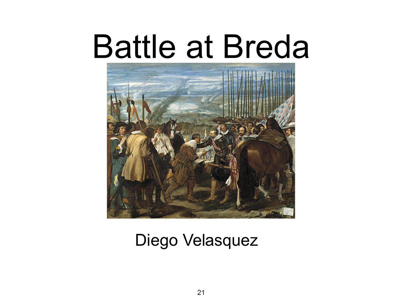 21 Battle at Breda Diego Velasquez