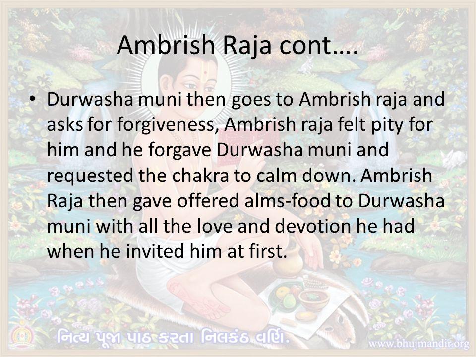 Ambrish Raja cont….