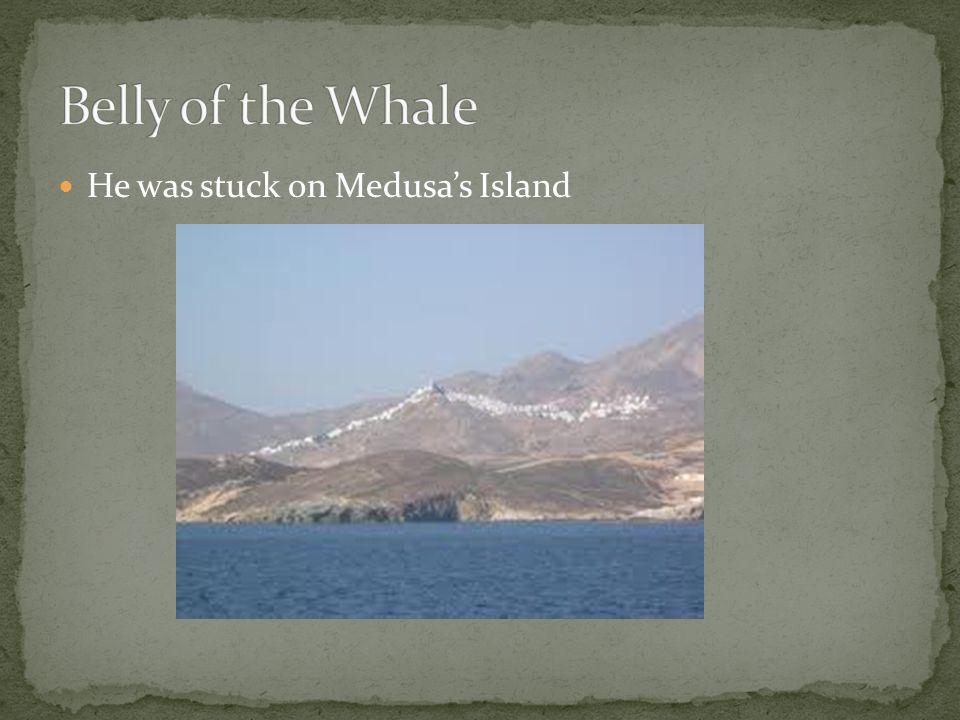 He was stuck on Medusas Island