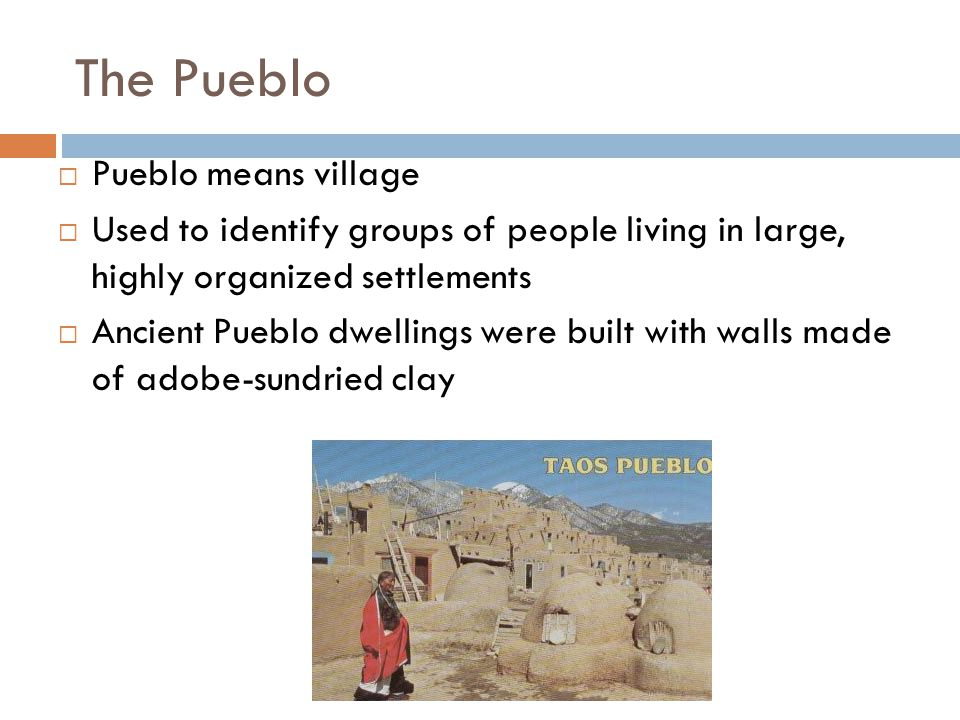 Rise of Pueblo Civilization Pottery is one of the oldest art forms in the Native American culture.