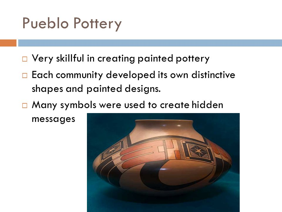 Pueblo Pottery today