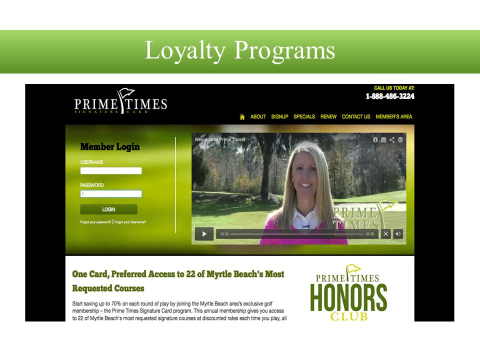 Loyalty Programs