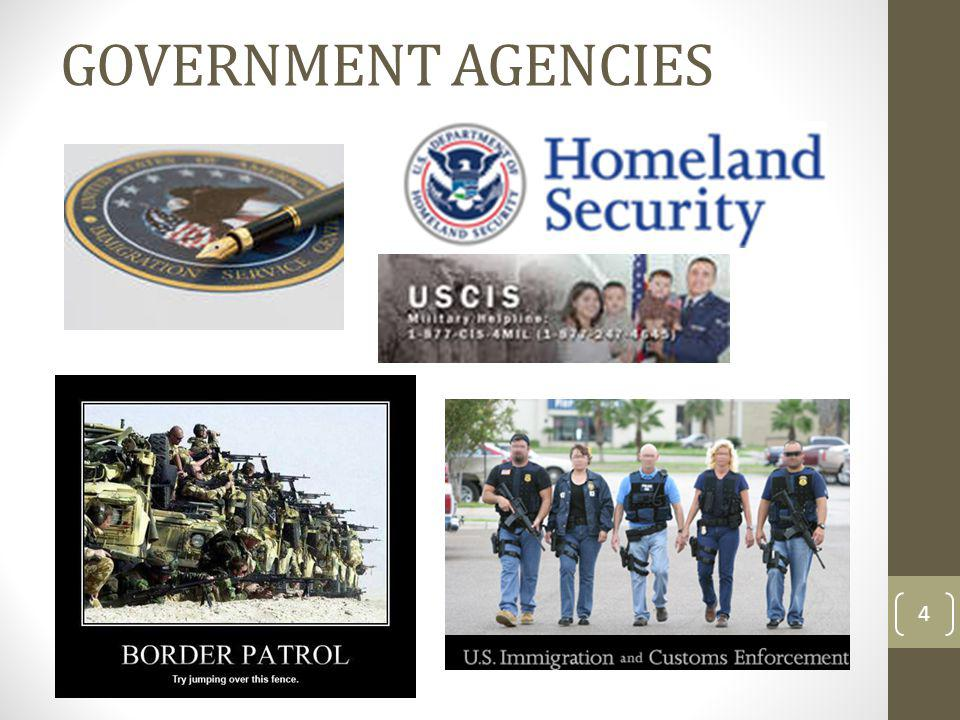 GOVERNMENT AGENCIES 4
