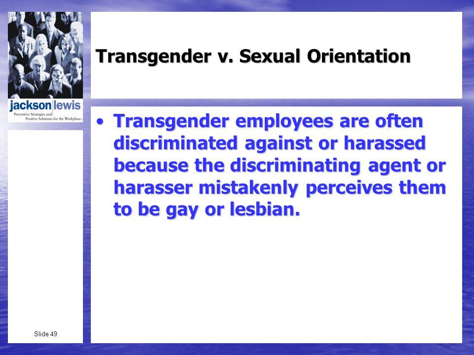 Slide 49 Transgender v.