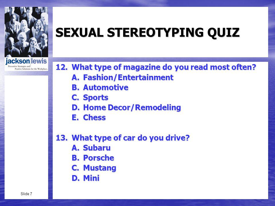 Slide 38 Pregnancy Based Stereotypes: Back v.