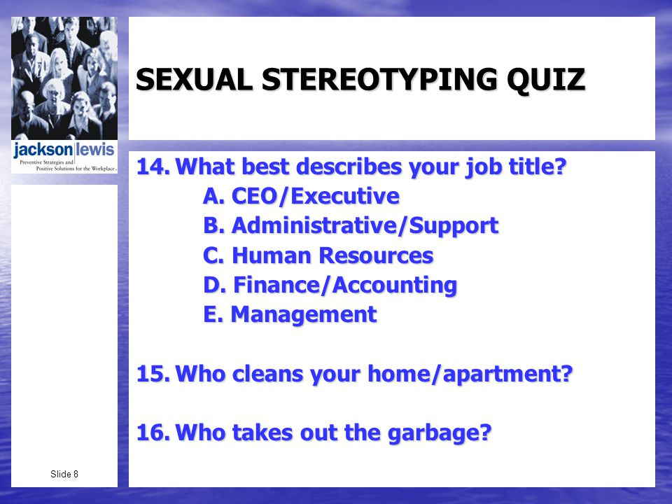 Slide 59 Sexual Reassignment Surgery: Goins v.West Group (Minn.