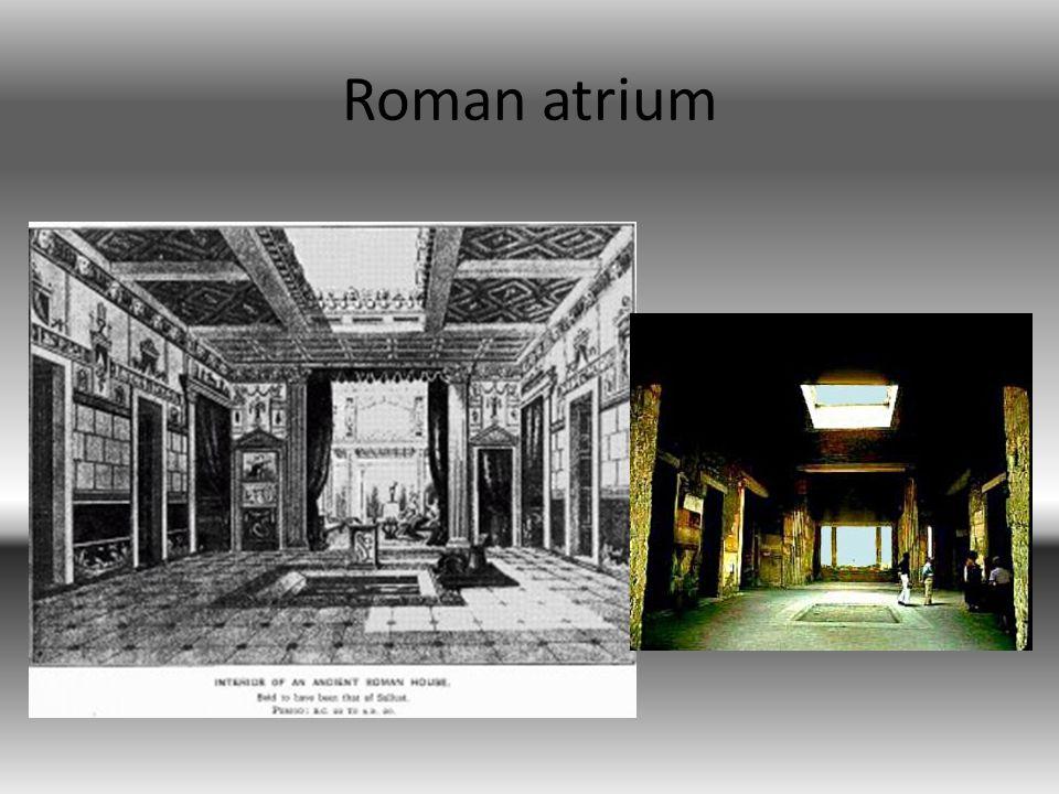 Roman atrium
