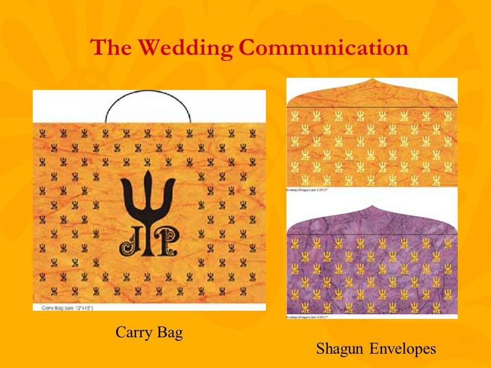 The Wedding Communication Carry Bag Shagun Envelopes