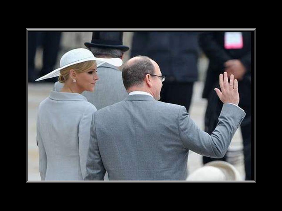 Prince Albert de Monaco and Charlene Wittstok