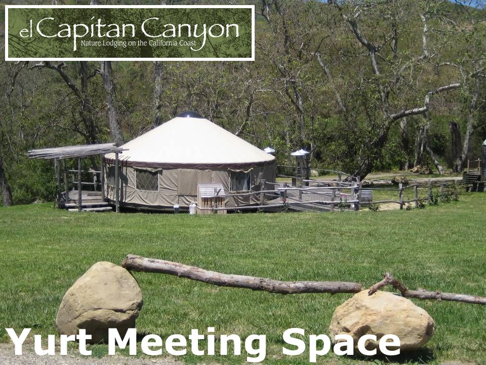 Yurt Meeting Space