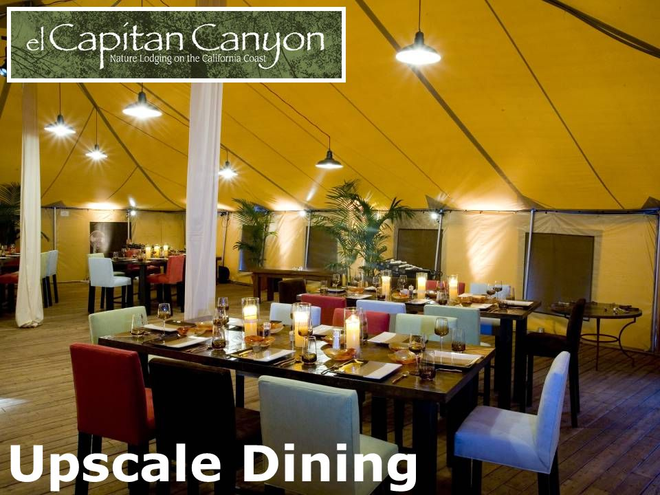 Upscale Dining