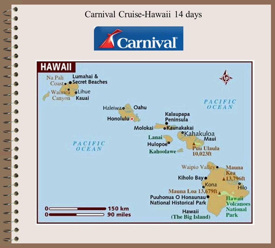 Carnival Cruise-Hawaii 14 days