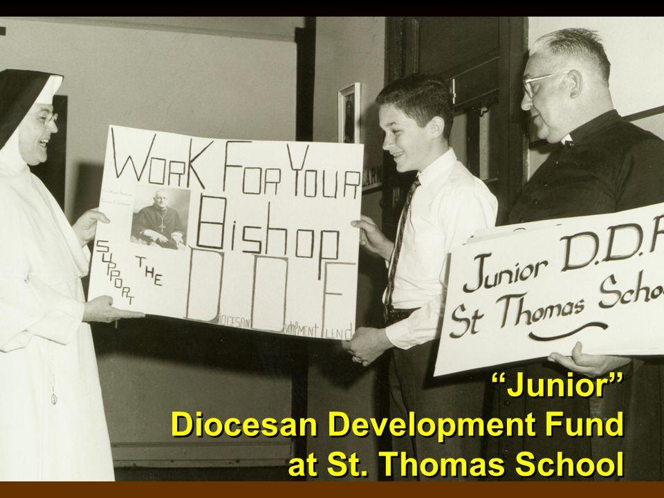 Junior Diocesan Development Fund at St. Thomas School