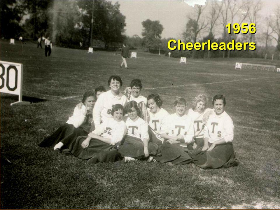 1956 Cheerleaders